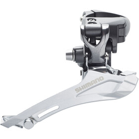 Shimano FD-CX70 Front Derailleur 2 x 10-speed, clamp, Top-Pull grey/black